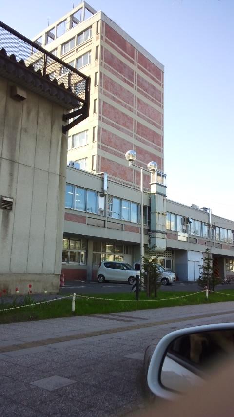 旭川市庁舎です。
