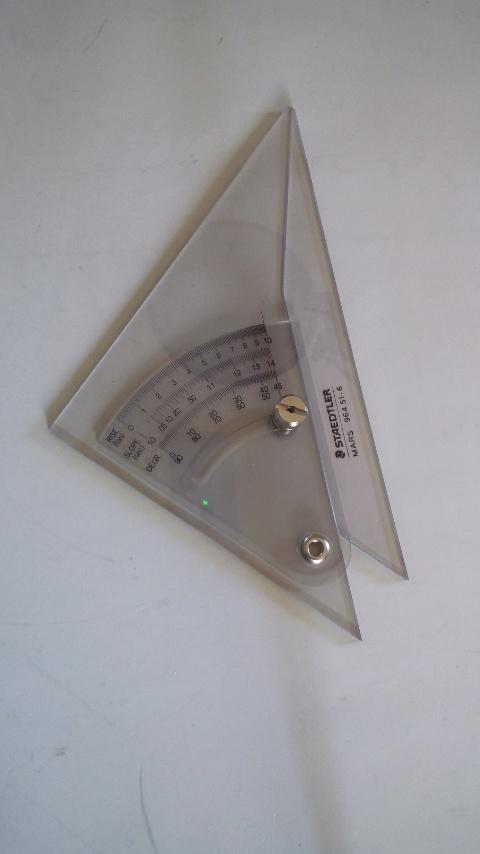 三角定規。